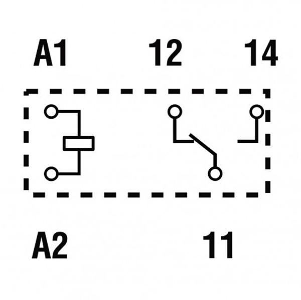 Przekaźniki Finder 40.51_schemat
