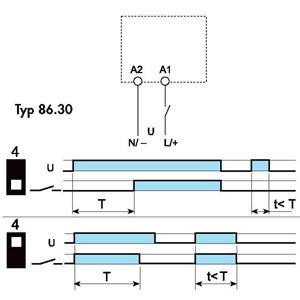 Moduł czasowy Finder 86.30_diagram