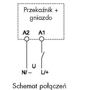 Moduł casowy  Finder 86.30_schemat