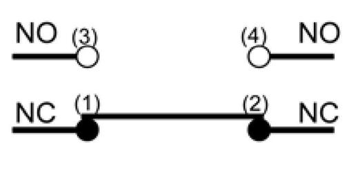 Wyłączniki krańcowe WL5104 styki
